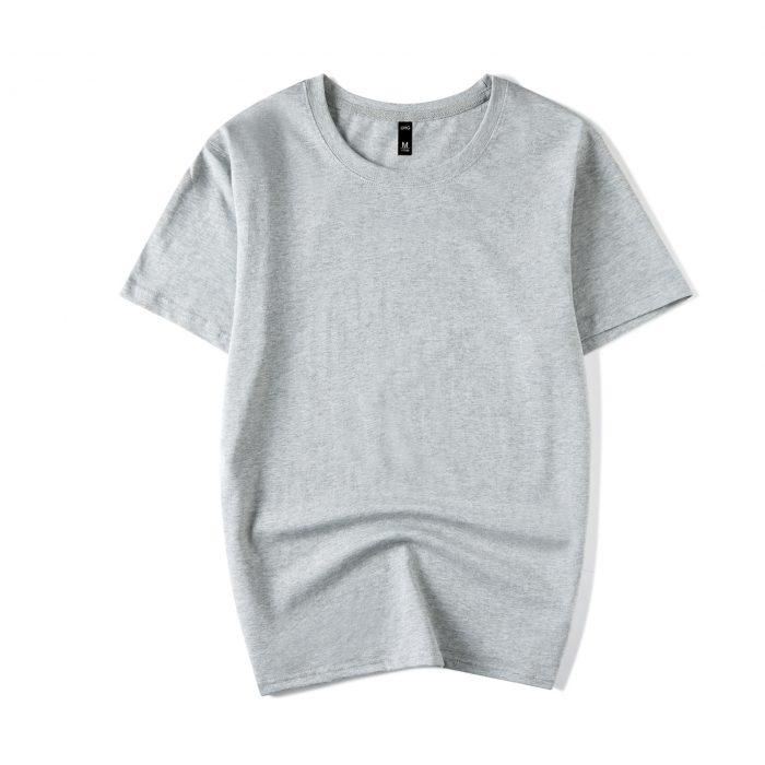 Gray Men's short sleeve T-shirt