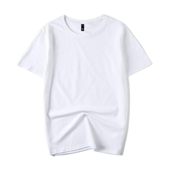 White Men's short sleeve T-shirt
