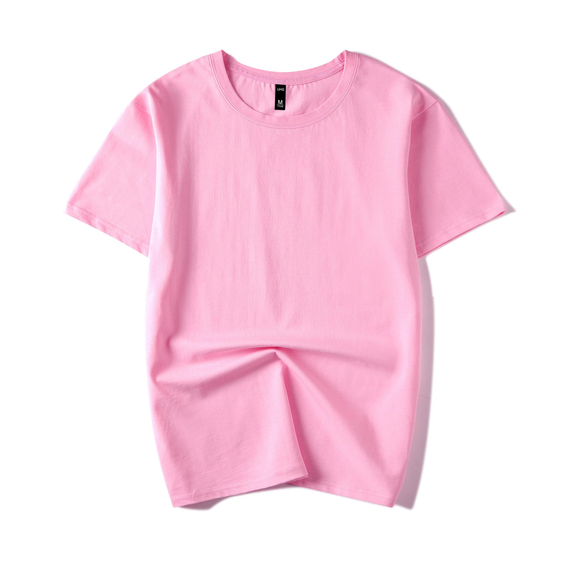 Pink Men's short sleeve T-shirt