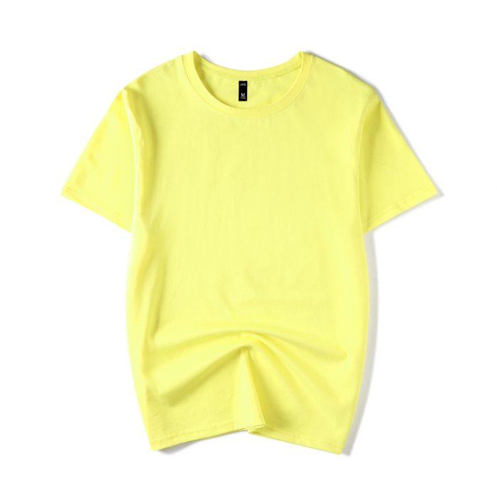 Yellow Men's short sleeve T-shirt