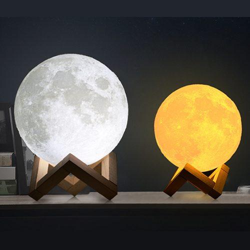 3D printing lunar lamp