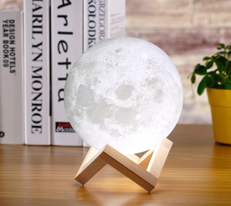 3D printing moon light